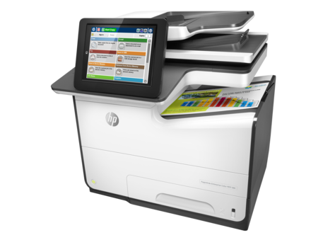 HP PageWide 586f